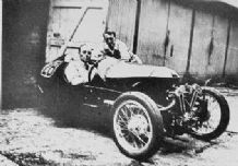 Morgan 3 wheeler Tommy Rhodes ,Brooklands 1932